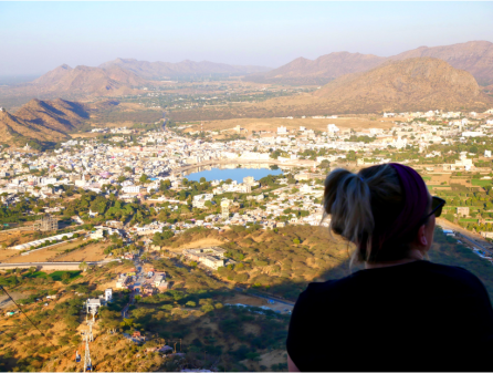 Pushkar view